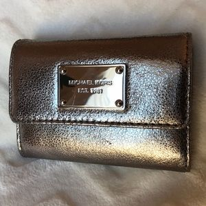 Michael Kors small wallet with keychain